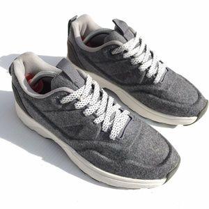 Zara Trafaluc Casual Felt Wool-Like  Sneakers 38